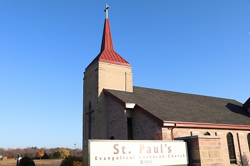 This is a picture of St. Paul's Church.